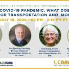 The COVID-19 Pandemic: What Does it Mean for Transportation and Mobility?
